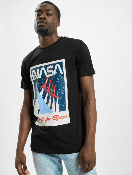 Mister Tee T-Shirty Nasa Fight For Space czarny