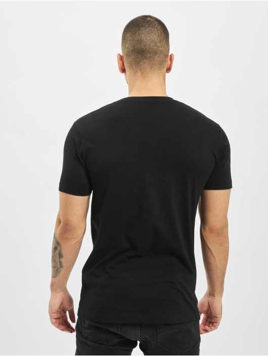 Mister Tee T-Shirty Adam Loves Eva czarny