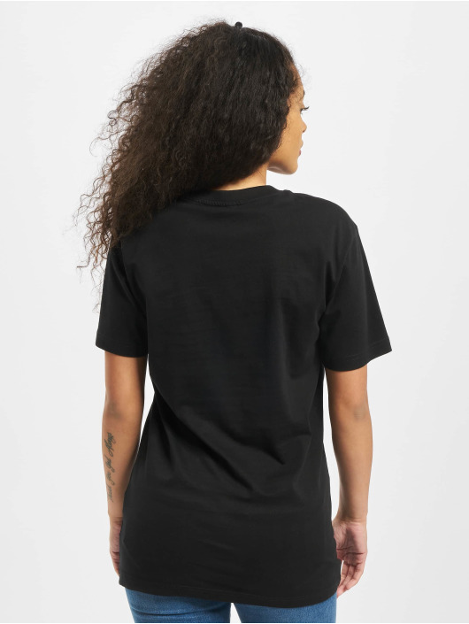 Mister Tee T-Shirty Ladies Minimalista czarny