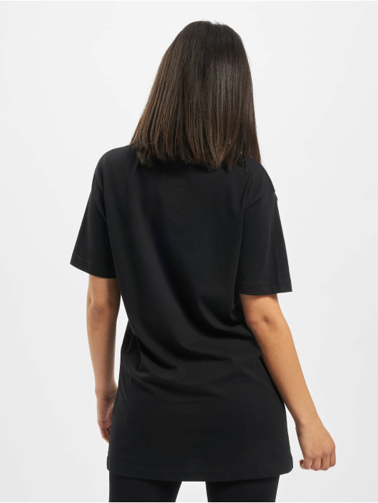 Mister Tee T-Shirty Ladies One Line czarny