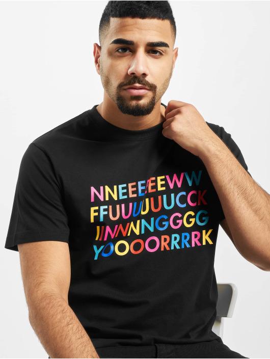 Mister Tee T-Shirty New Fucking czarny