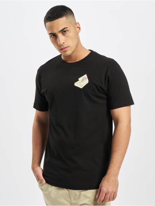 Mister Tee T-Shirty Pizza Francesco czarny