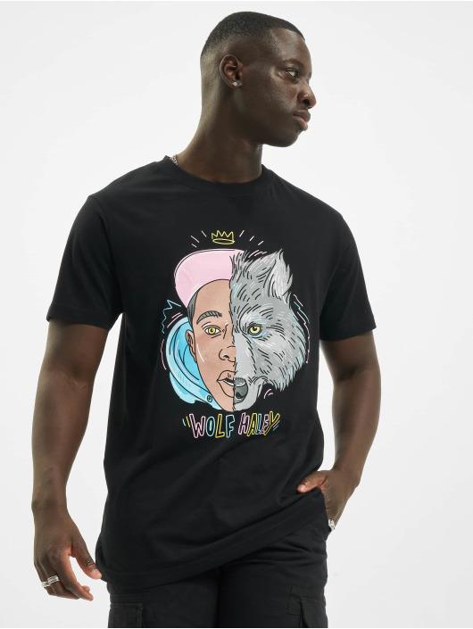 Mister Tee T-Shirty Tyler Wolf czarny