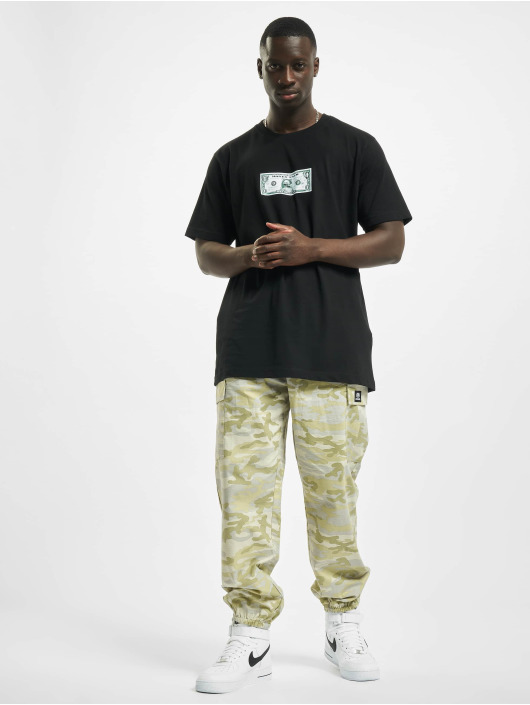 Mister Tee T-Shirty Money Guy czarny