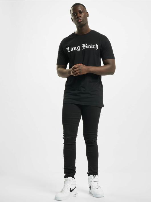 Mister Tee T-Shirty Long Beach czarny