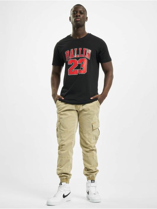 Mister Tee T-Shirty Ballin 23 czarny