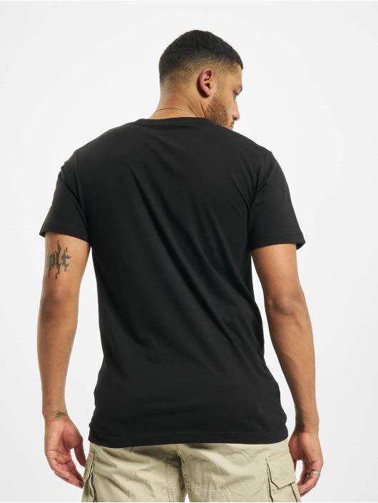 Mister Tee T-Shirty Born & Raised czarny