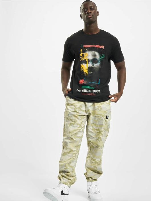 Mister Tee T-Shirty One Origin Human czarny