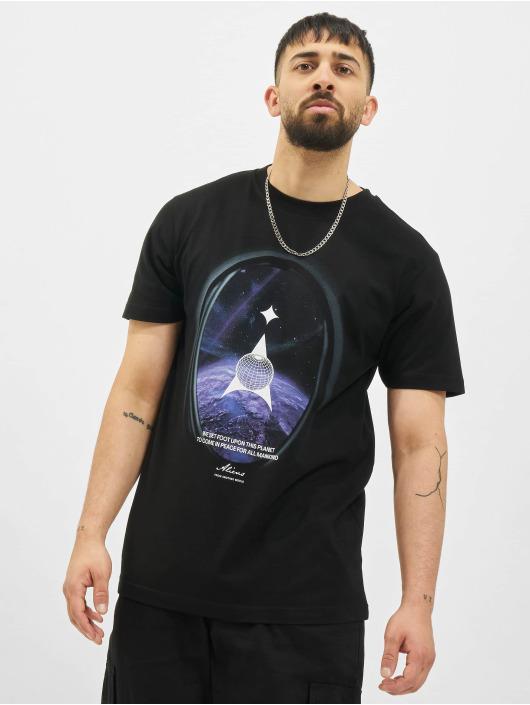 Mister Tee T-Shirty Alien Planet czarny