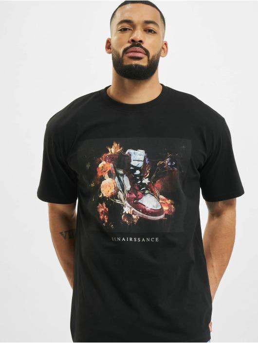 Mister Tee T-Shirty Renairssance Painting Oversize czarny
