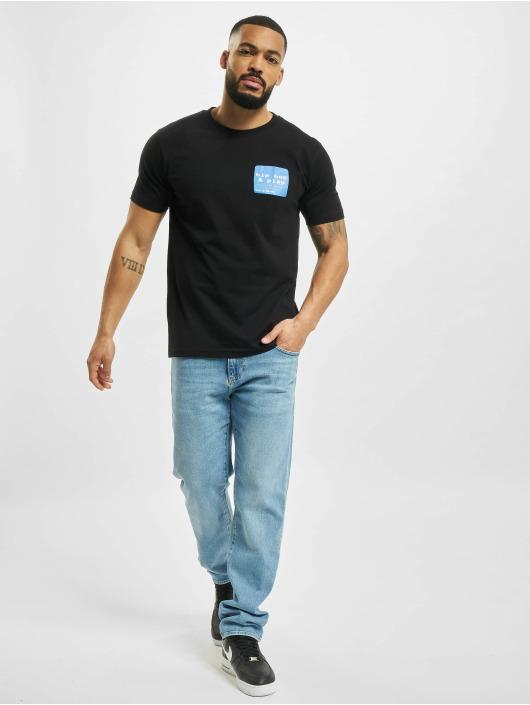 Mister Tee T-Shirty Hip Hop And Play czarny