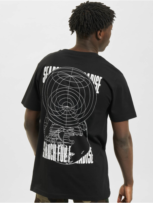 Mister Tee T-Shirty Search For Paradise czarny