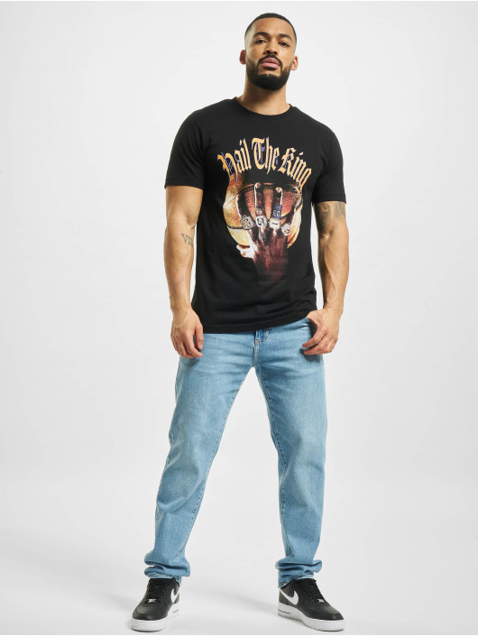Mister Tee T-Shirty Hail The King czarny