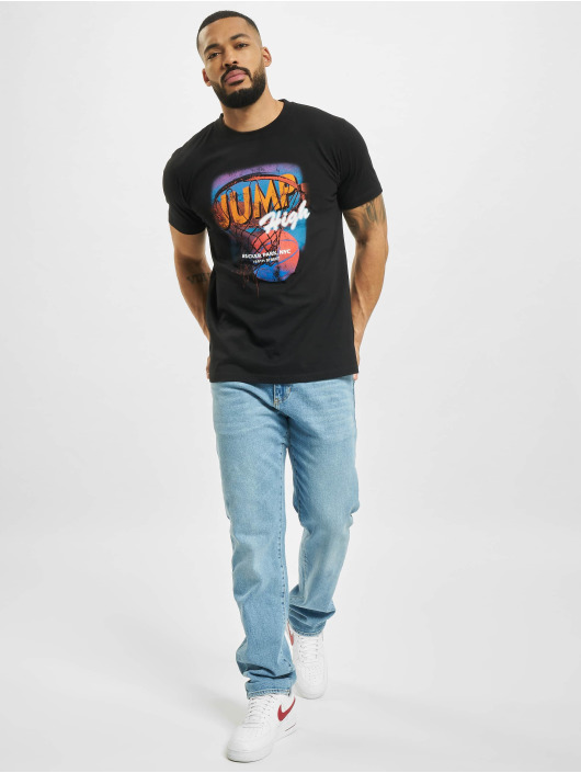 Mister Tee T-Shirty Jump High czarny