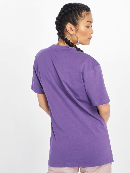 Mister Tee T-Shirty Peace Tall fioletowy