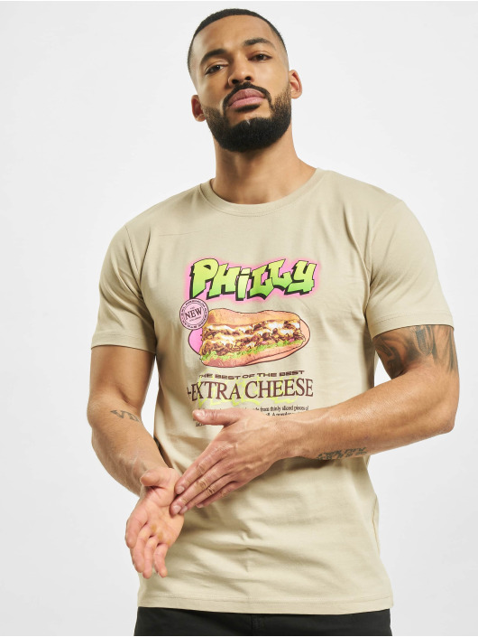 Mister Tee T-Shirty Philly Sandwich khaki