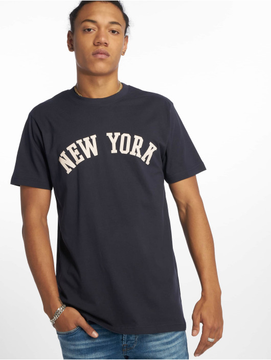 Mister Tee T-Shirty New York niebieski