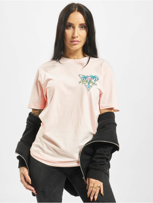 Mister Tee T-Shirty Long Beach pink