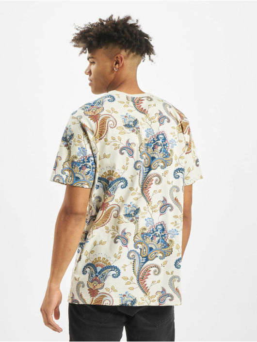 Mister Tee T-skjorter Paisley beige