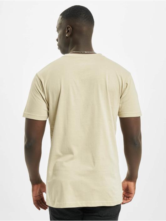 Mister Tee T-skjorter Fucking Life beige