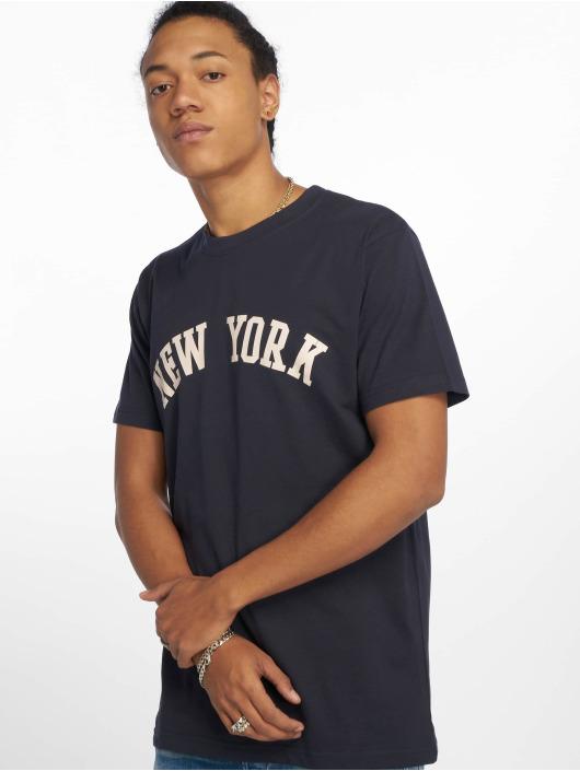 Mister Tee T-skjorter New York blå