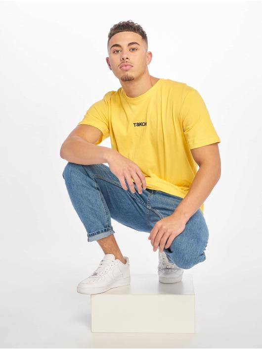 Mister Tee T-skjorter Taxi gul