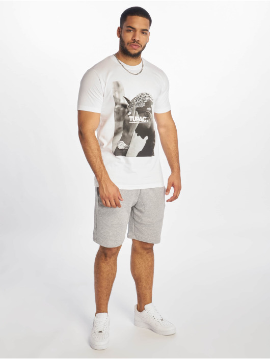 Mister Tee T-skjorter 2Pac F*ck The World hvit