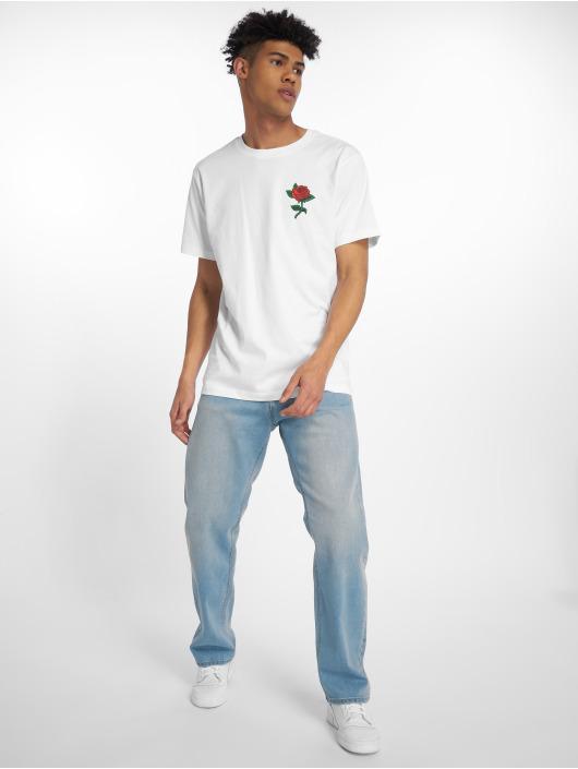 Mister Tee T-skjorter Rose hvit