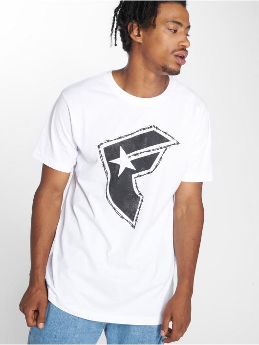 Mister Tee T-skjorter Barbed hvit