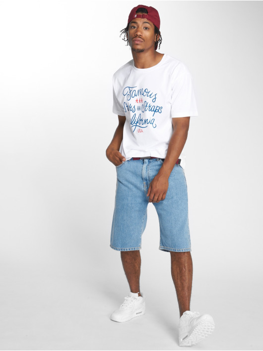 Mister Tee T-skjorter Hometown hvit