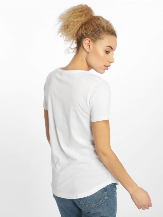 Mister Tee T-skjorter Ladies Stormtrooper hvit