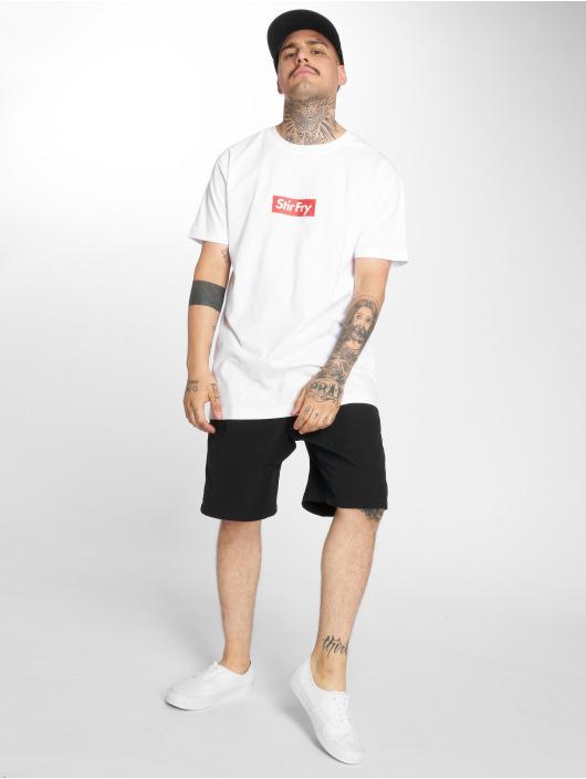 Mister Tee T-skjorter Stir Fry hvit