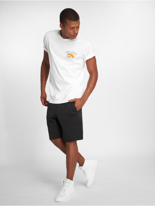 Mister Tee T-skjorter Edo hvit