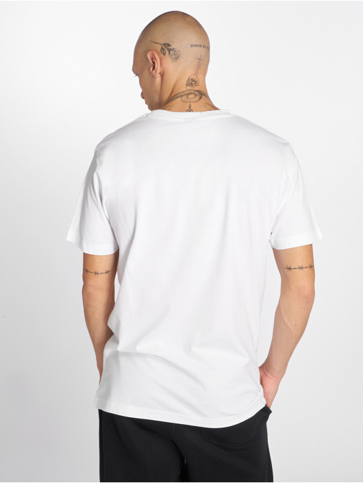 Mister Tee T-skjorter Welcome To La hvit