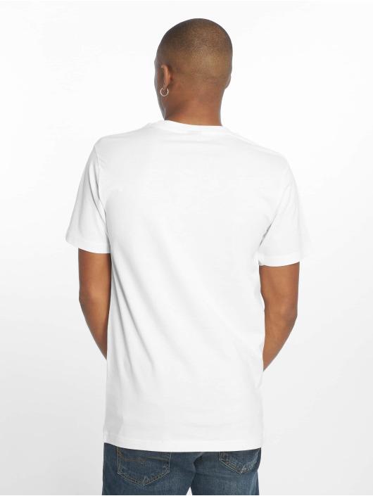Mister Tee T-skjorter Nasa Wormlogo hvit