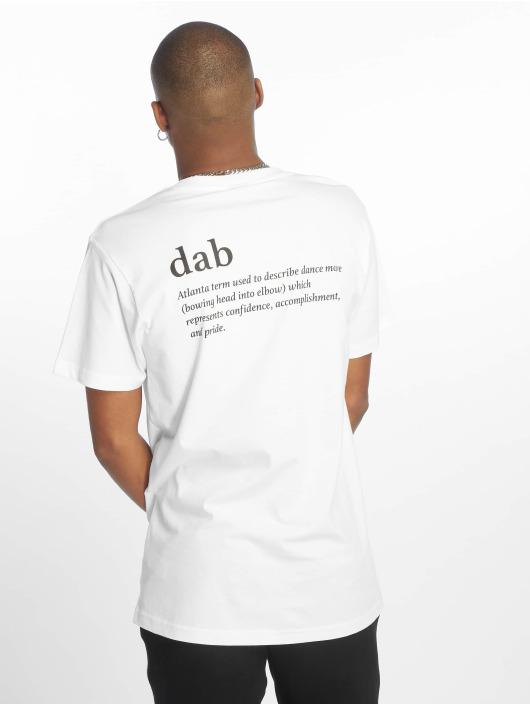 Mister Tee T-skjorter Dab hvit