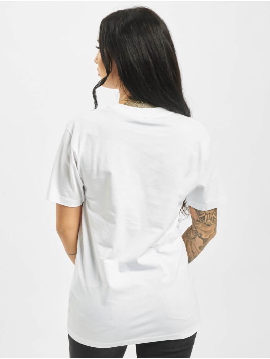 Mister Tee T-skjorter Moth hvit
