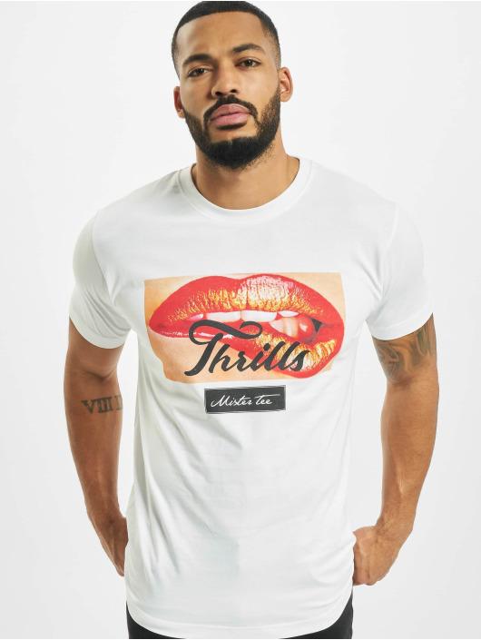Mister Tee T-skjorter Thrills hvit