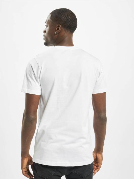Mister Tee T-skjorter Caaalling hvit