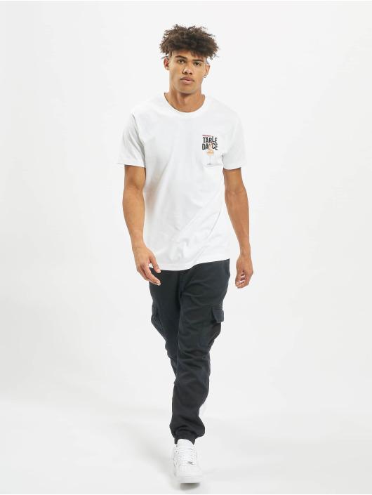 Mister Tee T-skjorter Tabledance hvit