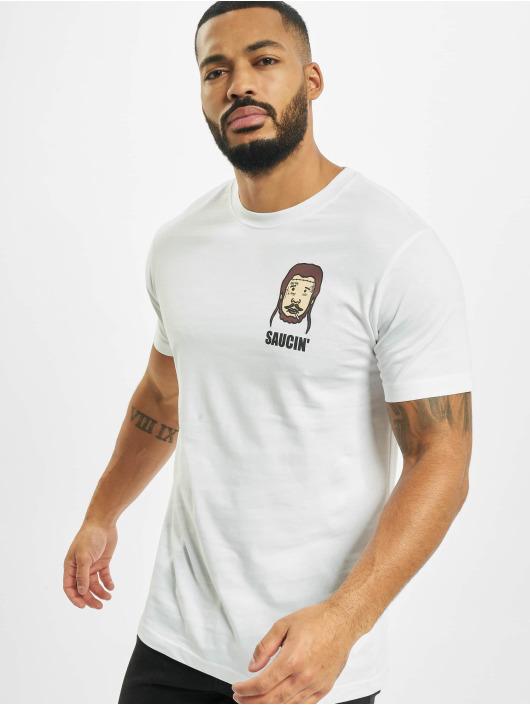 Mister Tee T-skjorter Saucin hvit