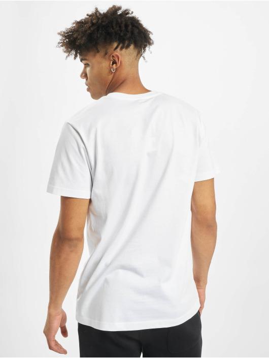 Mister Tee T-skjorter NASA Worm hvit