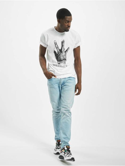 Mister Tee T-skjorter Westside Connection 2.0 hvit