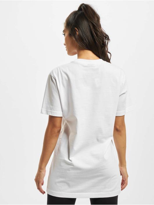 Mister Tee T-skjorter Ladies Magic Monday Slogan hvit