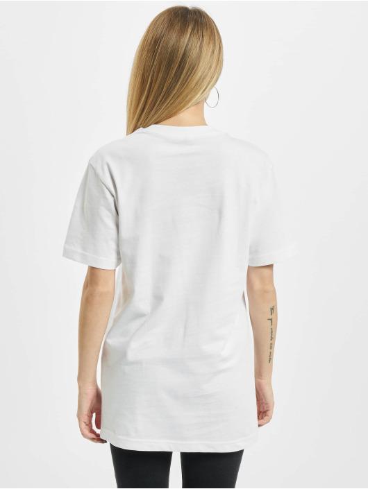 Mister Tee T-skjorter Ladies Lemon hvit