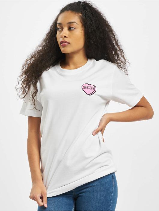 Mister Tee T-skjorter Ladies Memes hvit