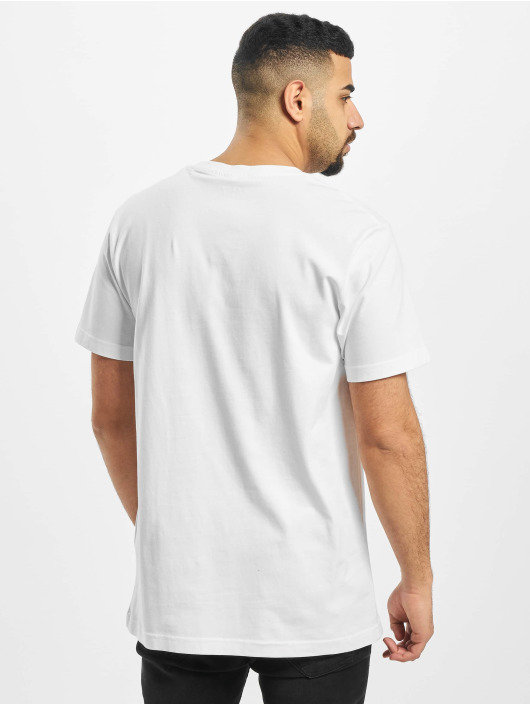 Mister Tee T-skjorter Tupac Profile hvit