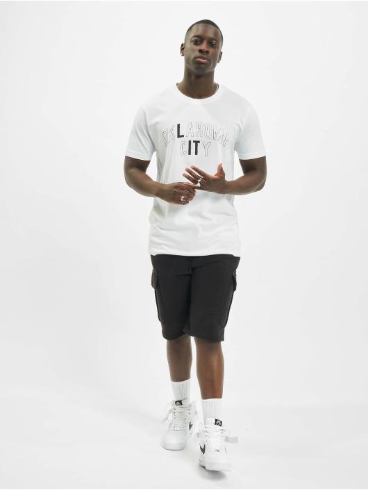 Mister Tee T-skjorter Lit City hvit