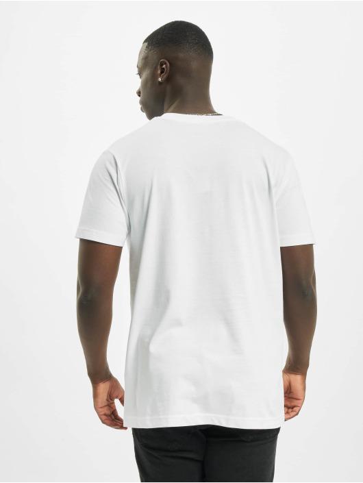 Mister Tee T-skjorter Whats Poppin hvit