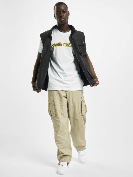 Mister Tee T-skjorter Strong Together hvit